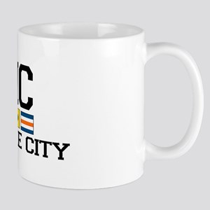 Sea Isle City NJ - Nautical Flags Mug